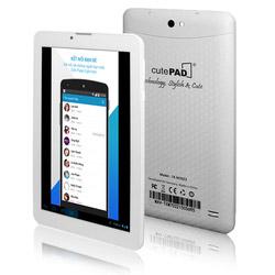 Máy Tính Bảng 7 inch 3G CutePad + bao da + Pin sạc dự phòng 8400 mAh