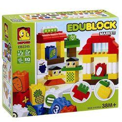 Bộ lắp ghép EDU BLOCK MARKET  EB2245