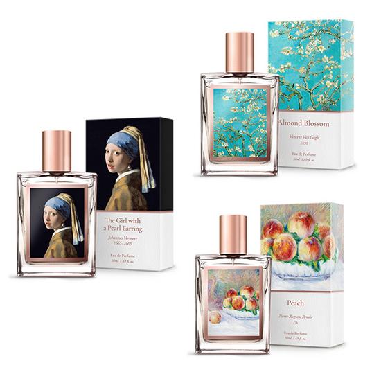 LIVE The Galery of Scent 3 chai nước hoa tặng 1 bông tai ngọc trai + 10 mặt nạ