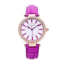 Đồng hồ nữ màu tím Julius JA-797