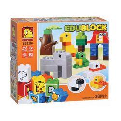 Bộ lắp ghép EDU BLOCK ZOO EB2246