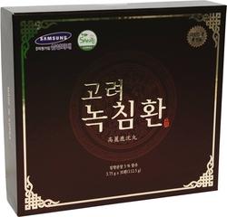 01 hộp (30 viên) Viên hoàn trầm hương nhung hươu+ 1 hộp kẹo sâm dẻo+1 hộp (100 gói) trà sâm Hàn Quốc