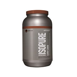 Isopure Low Card - Dutch Chocolate 3 lbs