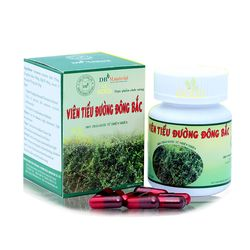 08 hộp (50 viên/hộp) Viên tiểu đường Đông Bắc + 02 hộp (20 gói/hộp) trà tiểu đường đông bắc túi lọc