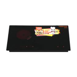 """[Happy Cook] -  Bếp hồng ngoại - điện từ Fornax HC-3800DH ( kèm chảo caro 24, nồi 3 đáy 16 &24)"""""""