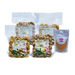 THD_2 gói hạt điều loại 1(250gr/gói) + 2 gói hạt điều lụa (250gr/gói) tặng 1 gói xoài sấy dẻo