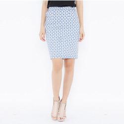 Chân váy ôm họa tiết phối Leena 3VN05