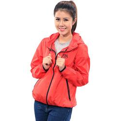 Áo khoác Nữ chống tia UV E.A.S Coat (màu đỏ) (tặng 1 túi vải + 1 áo thun xám nữ)