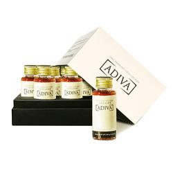 Bộ 04 hộp (14 lọ/hộp) Tinh chất làm đẹp collagen ADIVA + 01 hộp (70 viên) Adiva Collagen_14p