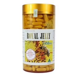 [Posedion] _ 01 hộp Sữa ong chúa  Royal Jelly 1450mg (365 viên)+05 mặt nạ sâm