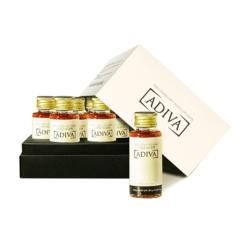 Adiva_Bộ 28 lọ Tinh chất làm đẹp collagen ADIVA + 1 hộp Collagen Adiva 63 viên _Live