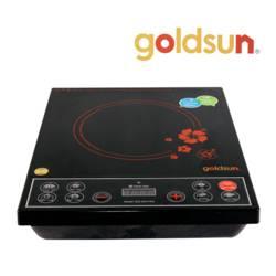 Bếp hồng ngoại mặt gốm Goldsun + Chảo 24cm + Bộ hộp TP 17 món (L)