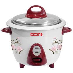 Combo GĐ: Nồi cơm điện nắp rời Honey's 1.8L + Bình đun inox 1.8L +  Chảo Eco Chef 24cm
