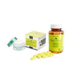 Combo Viên uống sáng da,cân bằng nội tiết tố nữ  + Kem hỗ trợ trị nám, tàn nhang Maganda