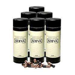 Adiva_06 hộp (70 viên/hộp) Adiva Collagen (5+1) + 08 lọ White Adiva_Live