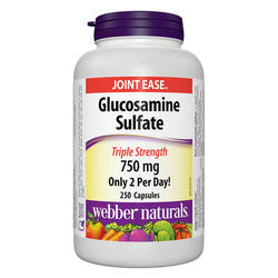 Webber_2 hộp (120viên/hộp) Glucosamine Chondroitine 500/400mg+1 hộp Viên Glucosamin Sulfate_990k