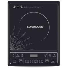 [SUNHOUSE] Combo bếp điện từ (kèm nồi lẩu)+ nồi cơm 1.8L + bình đun+ chảo từ 22cm+bàn ủi Sunhouse
