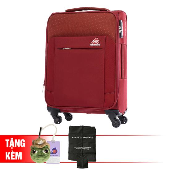 KAMILIANT Vali du lịch cao cấp Kamiliant Size 118 tặng 1 túi vải áo vali + 1 thẻ tên vali