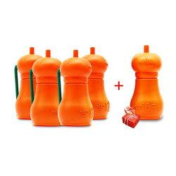 Bộ 4 lọ tẩy rửa bồn cầu Dr. Orange+ tặng 1 lọ cùng loại