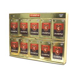 An Hòa_01 Hộp (10 gói/hộp) Sâm Lát Tẩm Mật Ong + 02 kẹo sâm (300gr/gói)