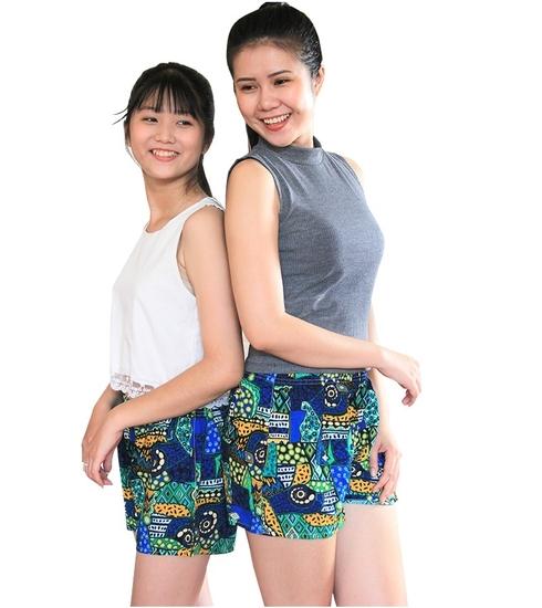 MYM- Bộ 10 quần sọt thời trang nữ tặng 1 gối tựa lưng