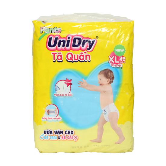 [UNIDRY]Combo 3 gói tã quần (M60/ L54/ XL 48) +3 túi khăn ướt 80 pcs