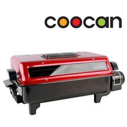 Vỉ nướng điện 2 mặt Coocan grill+ Bộ dao 4 món + 10 muỗng