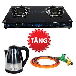[Bluestar] Bếp gas hồng ngoại NG-518 + bình đun + bộ dây van gas