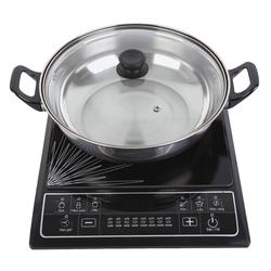[SUNHOUSE-MB] Combo bếp điện từ(kèm nồi lẩu) + chảo từ 22cm+ Bộ 3 nồi114