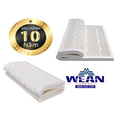 Nệm CSTN Massage-WEAN 5cmx1m6+1 bộ chăn drap CC+3 ruột gối +1 áo lưới bảo vệ+1áo bọc nệm+ 2 gối tựa
