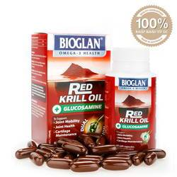 Viên bổ khớp Red Krill Oil Bioglan BIO01