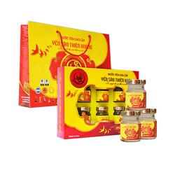 Thiên Hoàng_12 hộp yến Thiên Hoàng 12% (10+2) + 12 lon yến vị ngẫu nhiên (nha đam/collagen)