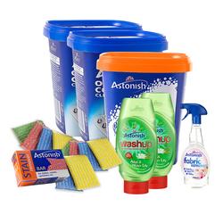 [ASTONISH]Bộ sản phẩm tẩy rửa 17 món