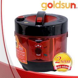 Nồi cơm điện chống dính công nghệ mới 3D Goldsun + Chảo chống dính cao cấp 24cm (58p)