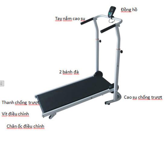 SH SPORTS - THIẾT BỊ ĐI BỘ T-100 + Đĩa xoay eo tập thể dục cao cấp