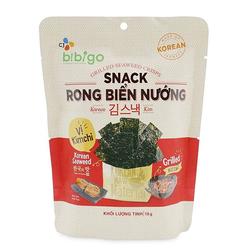 [CJ-Bibigo] GN-29 gói Rong biển(15 vị BBQ+7 vị Kim Chi+7 vị Bắp Mật Ong + tặng 2 nước ép) 14'