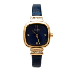 Đồng hồ nữ màu xanh đen Julius JA-863