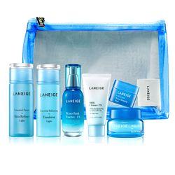 Bộ dưỡng ẩm toàn diện cho da thường, da dầu và hỗn hợp Laneige Essential Trial Set For Light