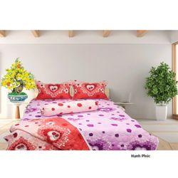 AIR WEAR BED - BST 2 trong 1 gồm (2 bộ drap + 1 chăn 2 mặt) 1m8