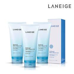 Bộ 03 sữa tắm dạng gel cao cấp Laneige 200ml