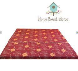 HOME SWEET HOME - Nệm bông ép 1m8x15cm tặng 1 bộ chăn drap + 2 nằm + 1 bộ drap