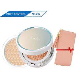 Kem phấn nền kiểm soát dầu kèm lõi thay thế Laneige BB Cushion_Pore Control SPF50+ PA+++ No.21N (Neutral - màu trung tính)