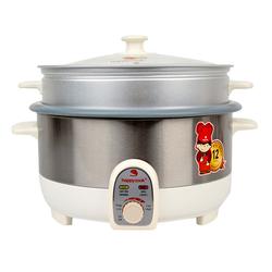 [Happy Cook_FD] Nồi lẩu điện kèm xửng HCHP-350ST