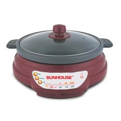 [Sunhouse] Lẩu điện Sunhouse SH535L đỏ