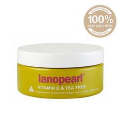 Sữa rửa mặt Lanopearl tinh chất trà xanh và Vitamin E LA17