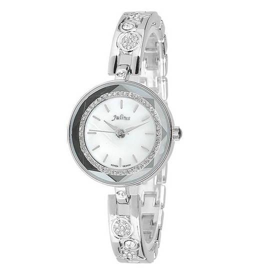 Đồng hồ nữ màu trắng Julius JA-624