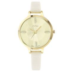 Đồng hồ nữ Julius trắng kem JA-800
