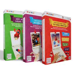 3 bộ đồ chơi phát triển tư duy cho trẻ Magic Book