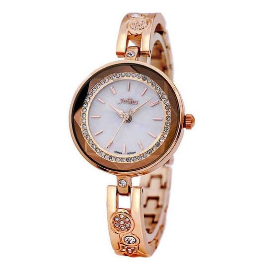 Đồng hồ nữ màu đồng Julius JA-624