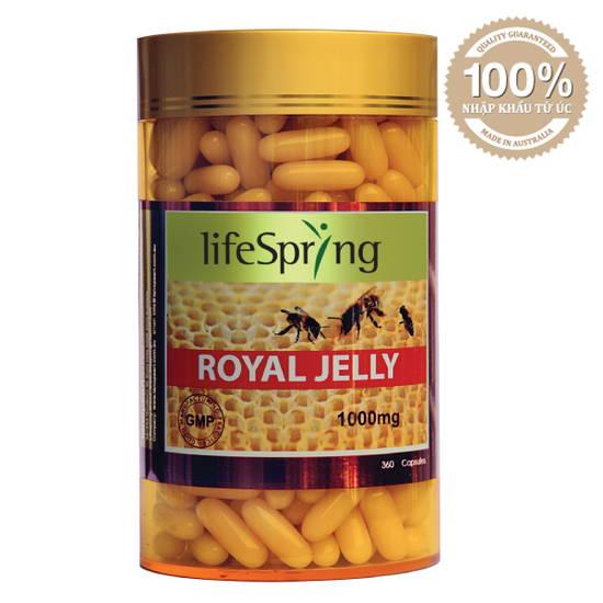 Viên Uống sữa ong chúa LifeSpring Royal Jelly 1000 mg LS32